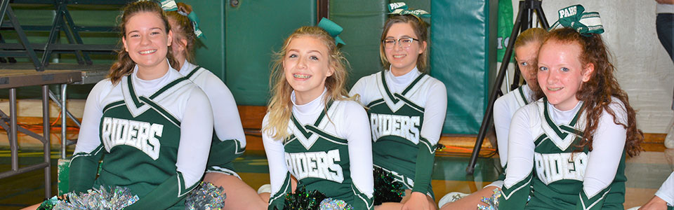 PAHS Cheer Squad Members